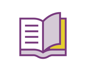 ícone que representa um diário
